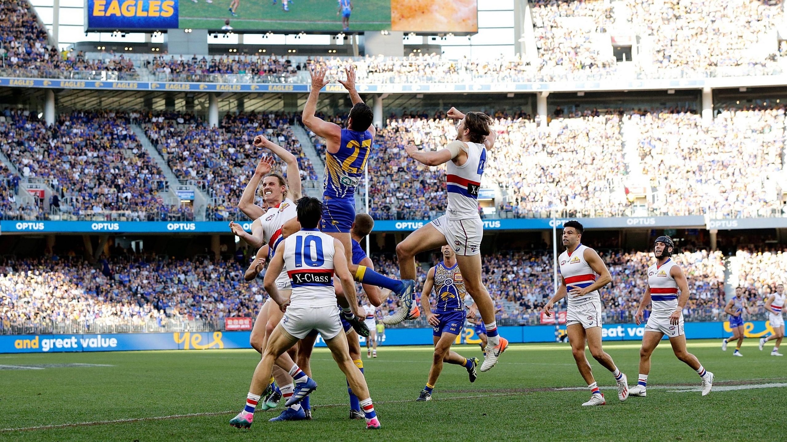 AFL Rd 11 - West Coast v Western Bulldogs